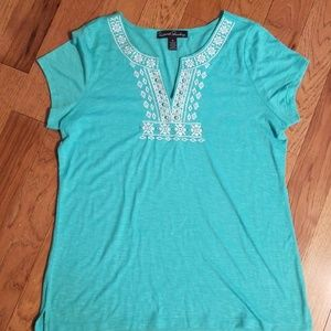 Tribal Embroidered Shirt